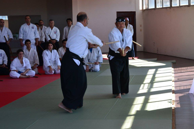 sensei teaching in Montevideo 20152
