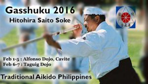 PHILIPPINES GASSUKU AND SEMINAR 2016