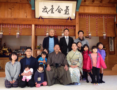 Sensei and family 2017