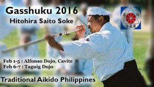 PHILIPPINES GASSUKU AND SEMINAR 2016