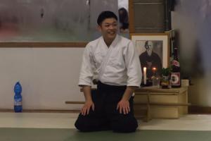 Saito Yasuhiro sensei's first international seminar – Torino – Italy