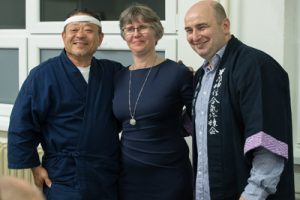 Saito Jukucho with the Kurilla couple